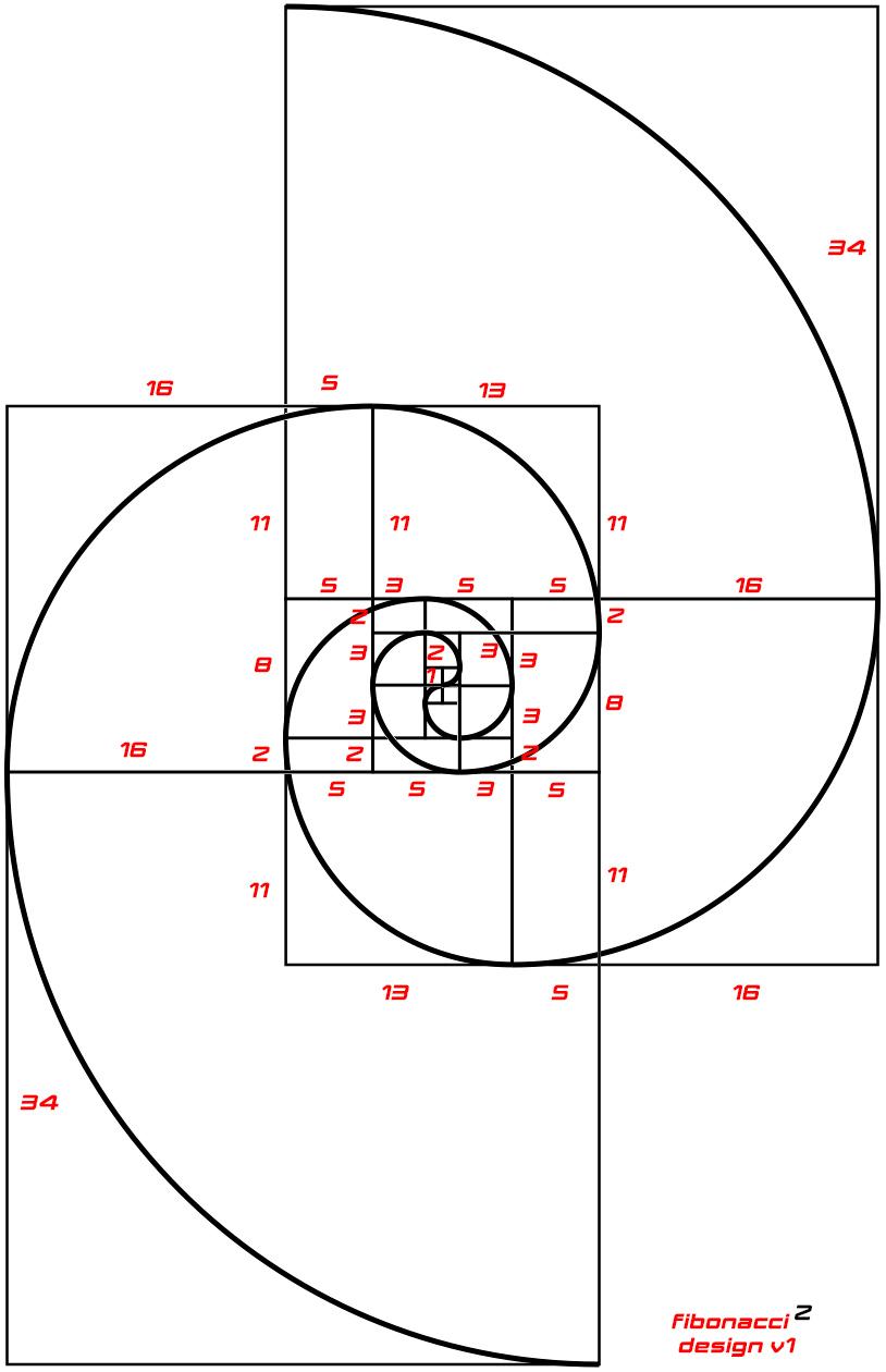 fibonacci design